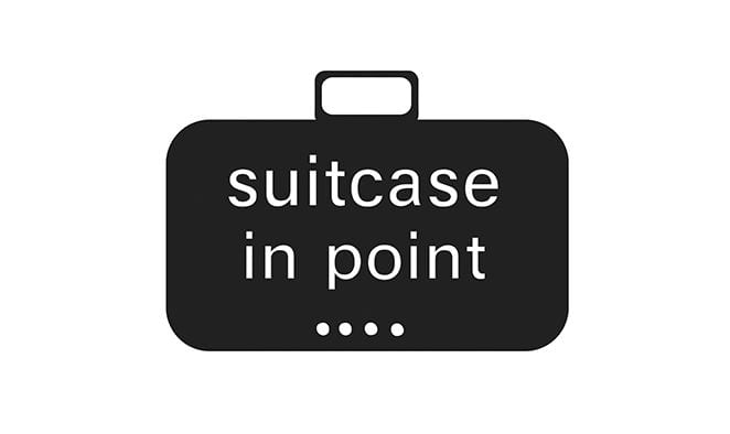 Suitcase in Point